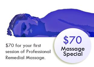 $70 Massage Special