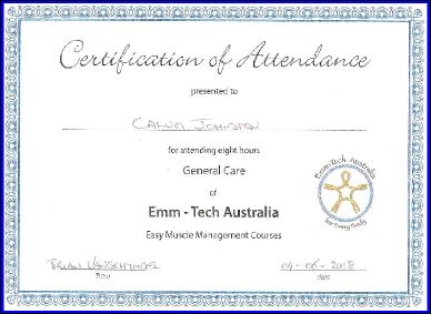 Emmet Technique Training Course